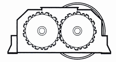 Figure 7 Typical double roll crusher schematic.png